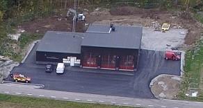 Invigning av ny brandstation i Veckholm